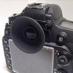 Nikon D600(D610) 無加工で丸窓化(Nikon純正パーツのみ)