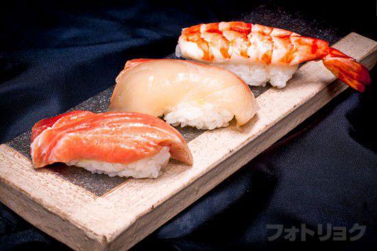コンビニお寿司レタッチあり