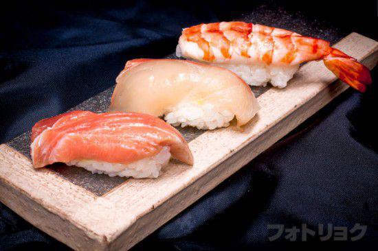 コンビニのお寿司 現像後