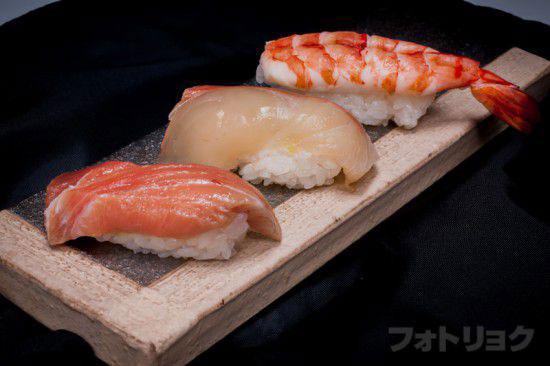 コンビニのお寿司 現像前