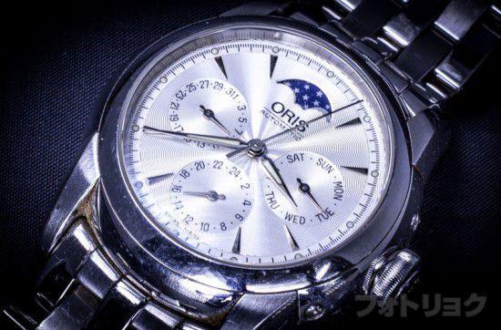 オリス自動巻き時計