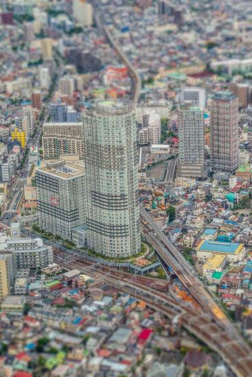 東京スカイツリー展望台から見た風景5