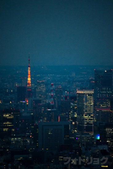 東京スカイツリー展望台から見た風景7