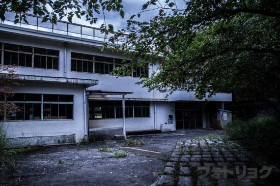 足尾銅山小学校廃墟
