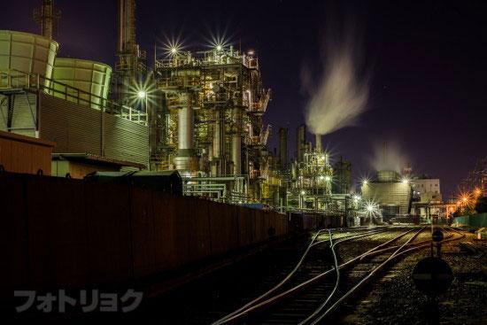 レンズ:Ai AF NIKKOR 50mm f/1.8Dで撮った工場3
