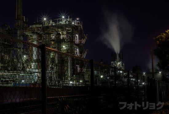 レンズ:Ai AF NIKKOR 50mm f/1.8Dで撮った工場2