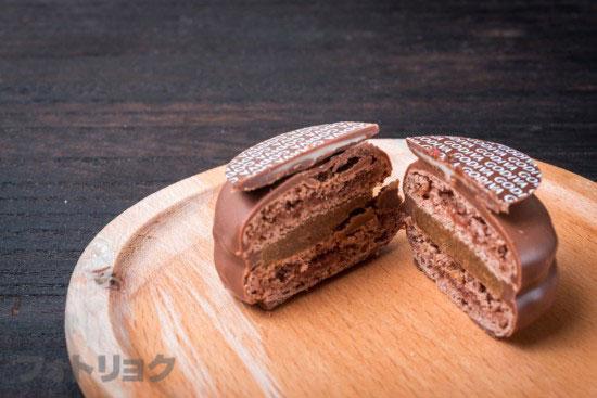ゴディバマカロンショコラ・マロン&ミルクチョコレート