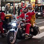 2013 サンタがバイクでやってきた。東京編 【写真13枚】