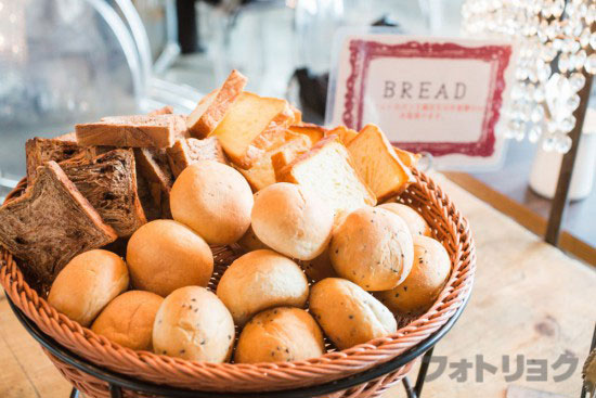 ミクロコスモス食べ放題のパン