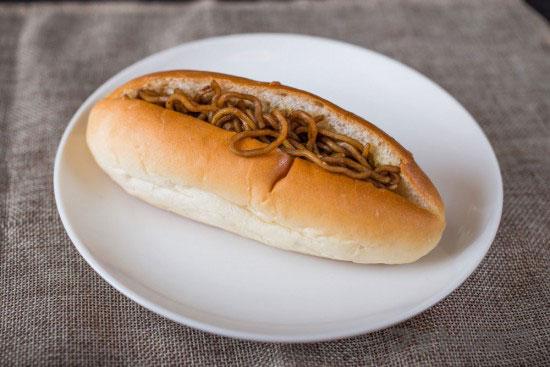 パンのオオムラの焼きそばパン