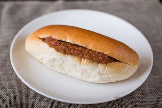 パンのオオムラのハムカツパン