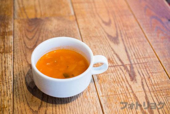 ロイヤルガーデンカフェのスープ