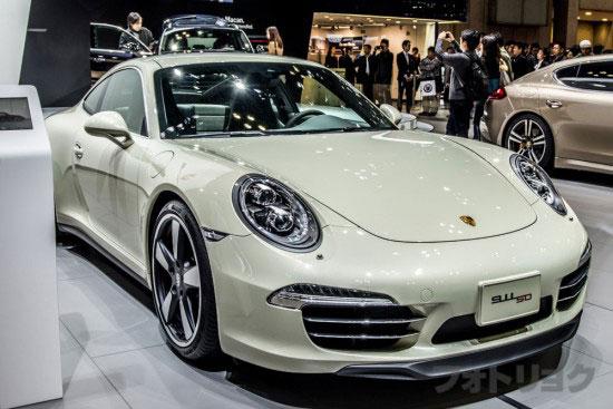 ポルシェ 911 50th アニバーサリーエディション