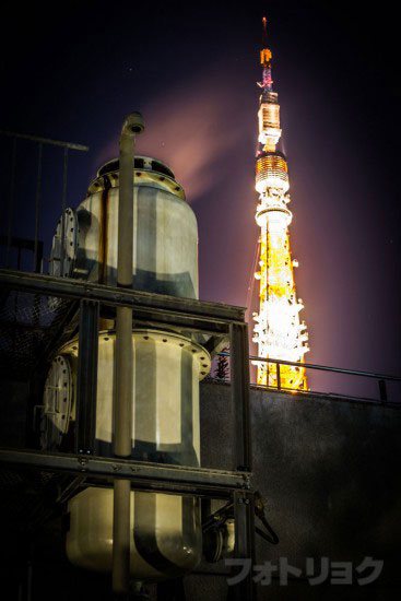 機械と東京タワー