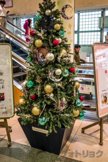 恵比寿駅クリスマスツリー