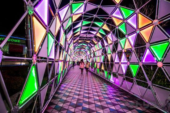 東京ドームシティルミナストンネル