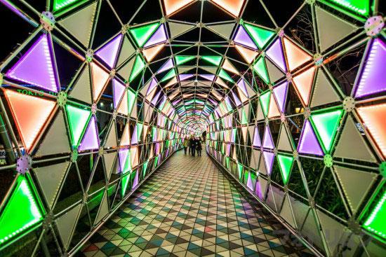 東京ドームシティルミナストンネル2