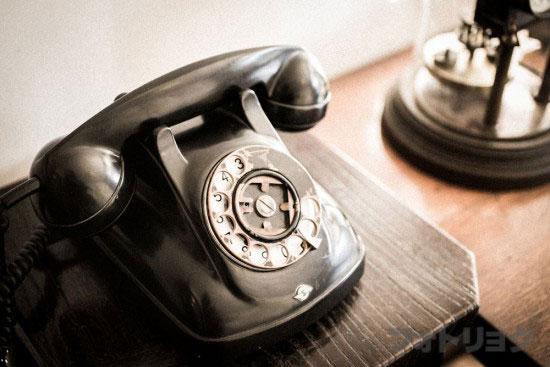 前川國男邸の黒電話