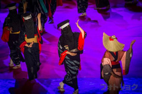 西馬音内の盆踊3