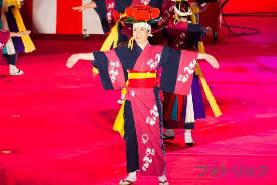 岩手県盛岡さんさ祭り1