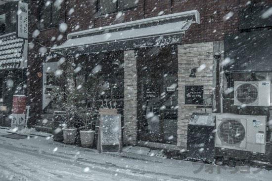 渋谷裏路地2大雪