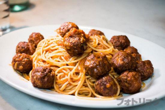 ミートボールスパゲティ