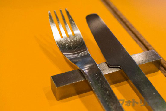 サンデージャムのナイフとフォーク