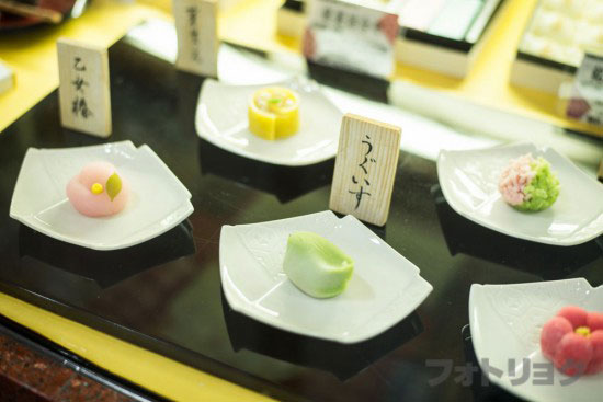 塩瀬総本家の上生菓子