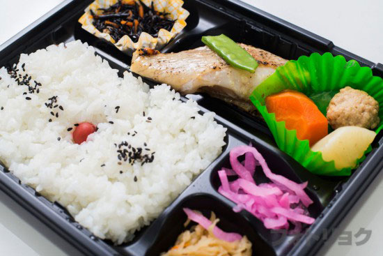 弁当将軍の赤魚の西京焼き弁当2