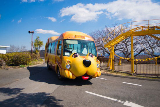 マザー牧場犬バス