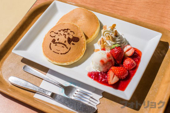 マザー牧場のパンケーキ