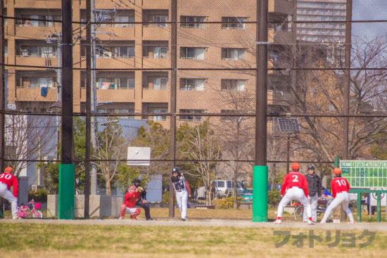 行船公園の野球場