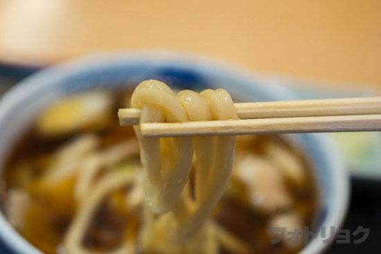 尾張屋の武蔵野うどんの麺