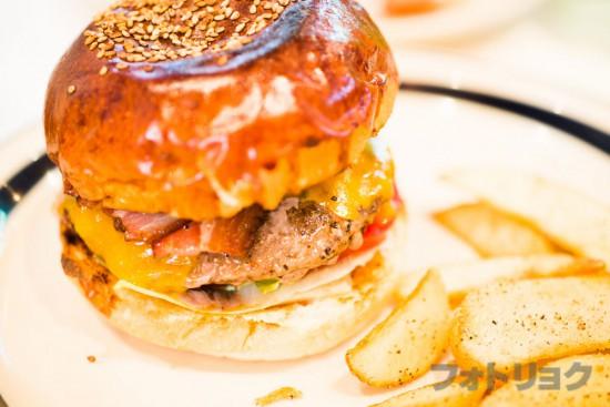 ザ・グレートバーガーのハンバーガー
