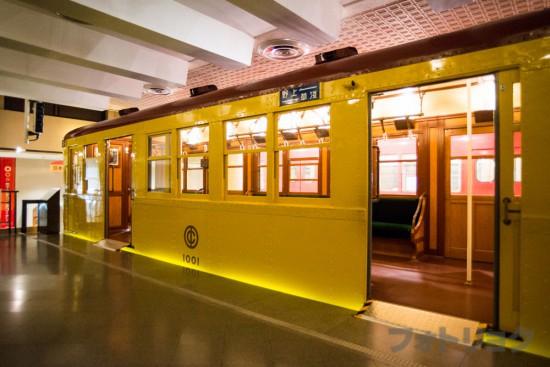 地下鉄博物館の日本最初の地下鉄