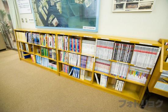 地下鉄博物館の図書室