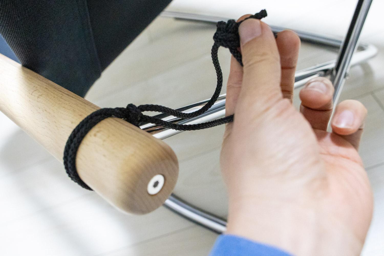 ニーチェアXの紐